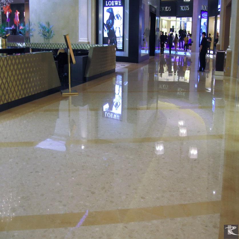 澳門威尼斯人七星級四季酒店使用的是來自台灣羅馬崗石人造石迪奧系列的建材精品