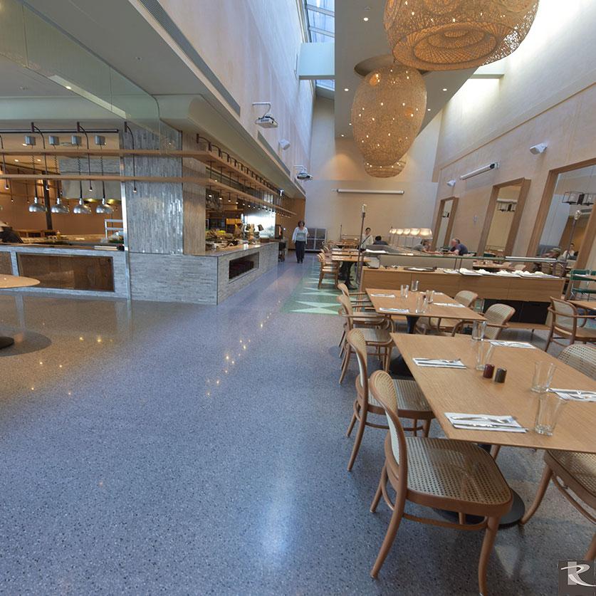 台北松山意舍酒店使用的是來自台灣羅馬崗石人造石蒂雅系列的建材精品