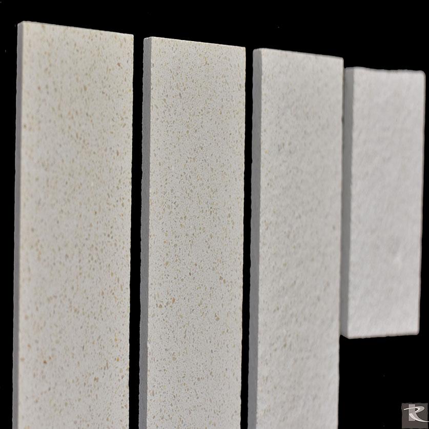 馬崗石人造大理石的加工大致有亮面、霧面、仿古面、和噴砂面。