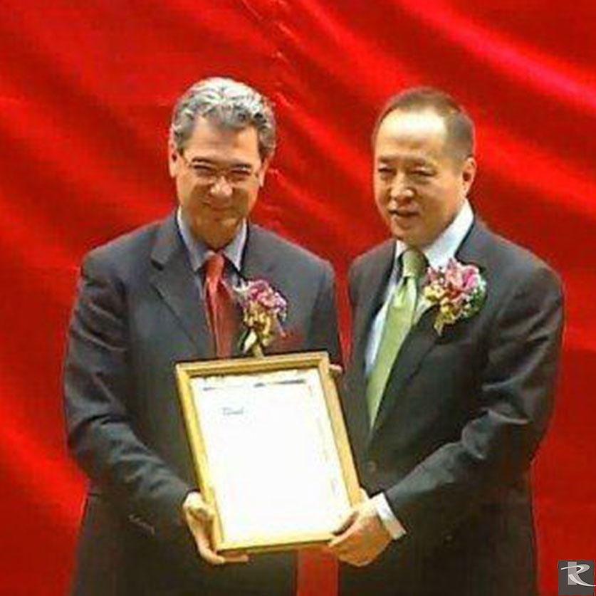 羅馬集團光聯興業i.light 羅馬透明水泥獲頒義大利世博會榮譽獎狀